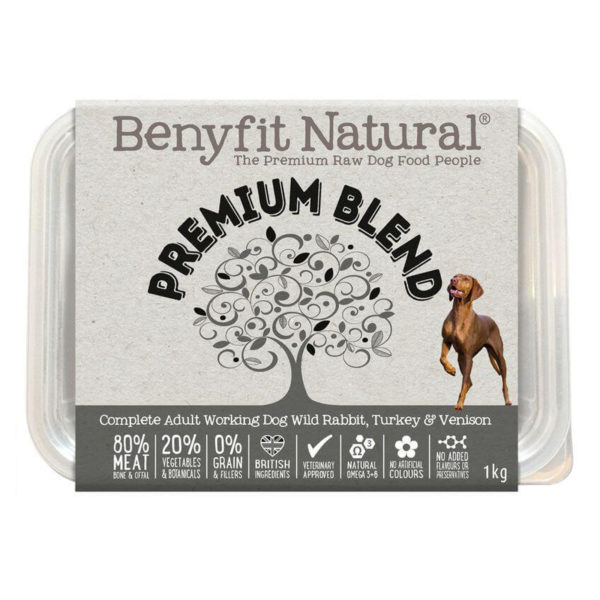 premium blend raw dog food