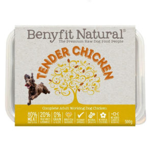 chicken raw dog food