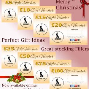 Photo of gift vouchers