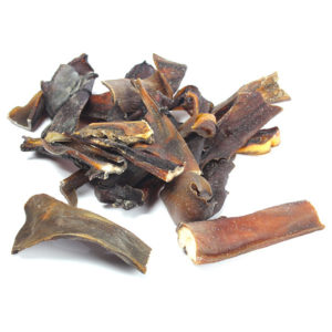 dried buffalo skin natural dog treat