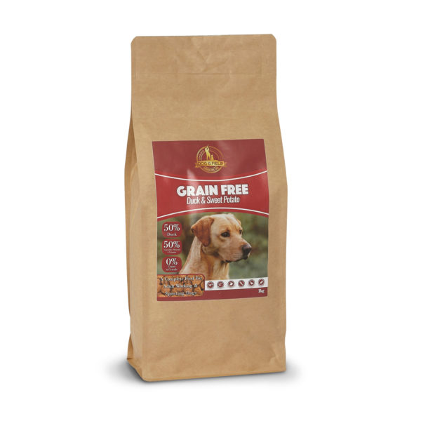 Dog and Field Grain Free Duck and Sweet Potato - 1kg bag