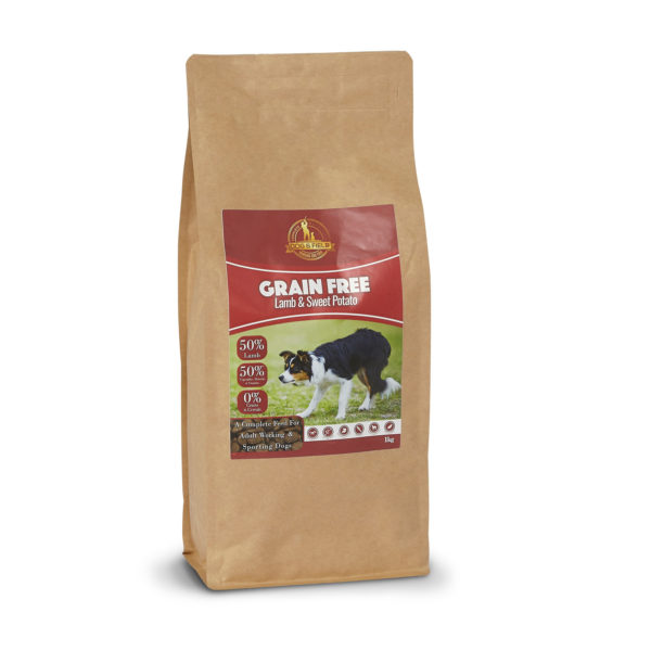 Dog and Field Grain Free Lamb and Sweet Potato - 1kg Bag