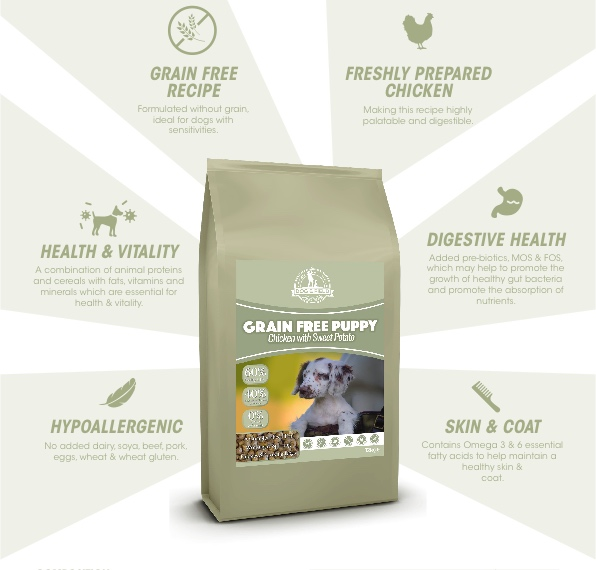 Dog and Field Grain Free Puppy Food - Dry Food
