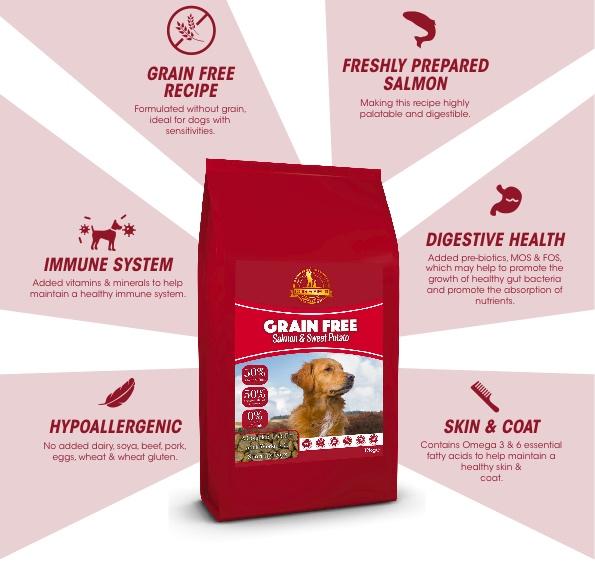 Dog and Field Grain Free Salmon and Sweet Potato - Dry Food