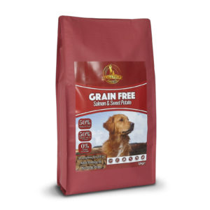 Dog & Field Grain Free Salmon and Sweet Potato Dry Dog Food 12kg
