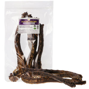 goose neck natural dog treat