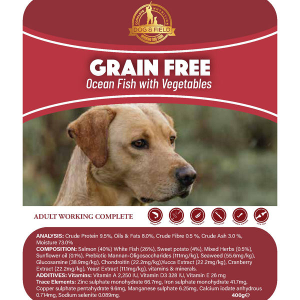 Grain Free Fish Food