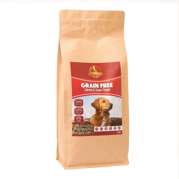 Dog and Field Grain Free Salmon and Sweet Potato 1kg
