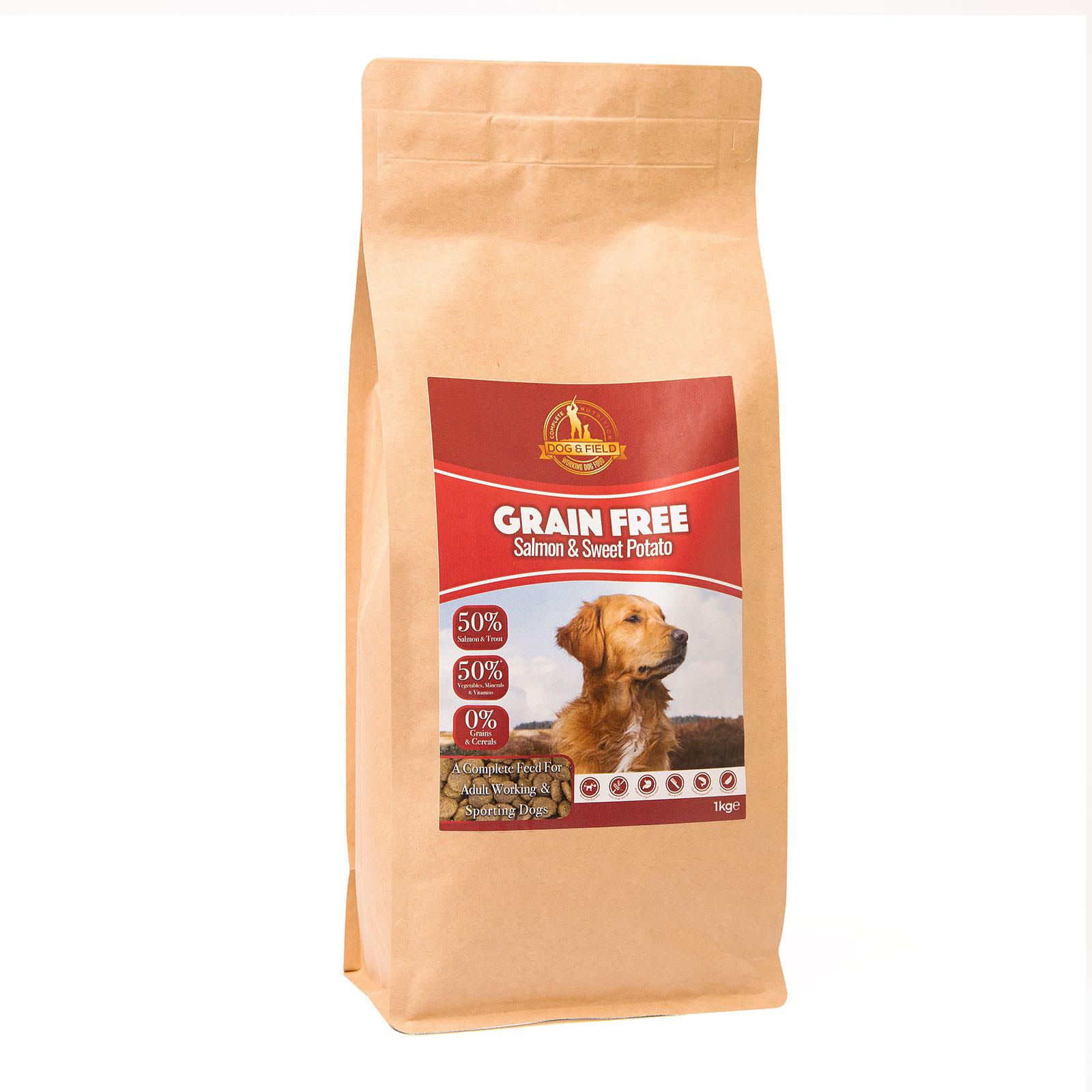 Dog Field Grain Free Adult Salmon Sweet Potato