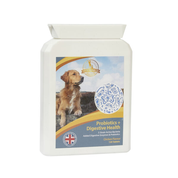 Dog & Field Probiotics for Dogs 120 Tablets
