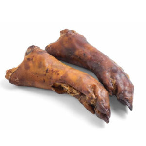 pigs trotter natural dog treat