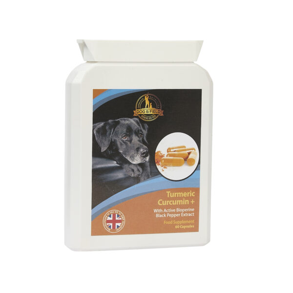 Dog & Field - Turmeric for Dogs 60 Capsules