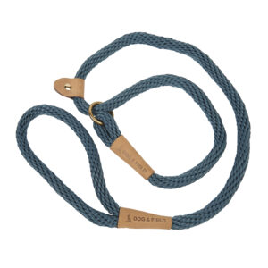 Lux Slip Dog Lead Teal