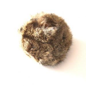 Rabbit Fur Dummy Ball-0