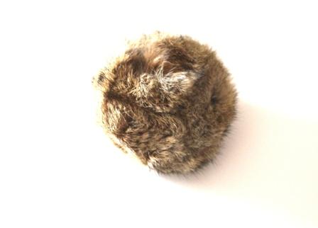 Rabbit Fur Dummy Ball-0