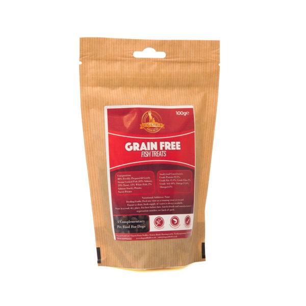 Dog and Field Grain Free Fish Treats 100g