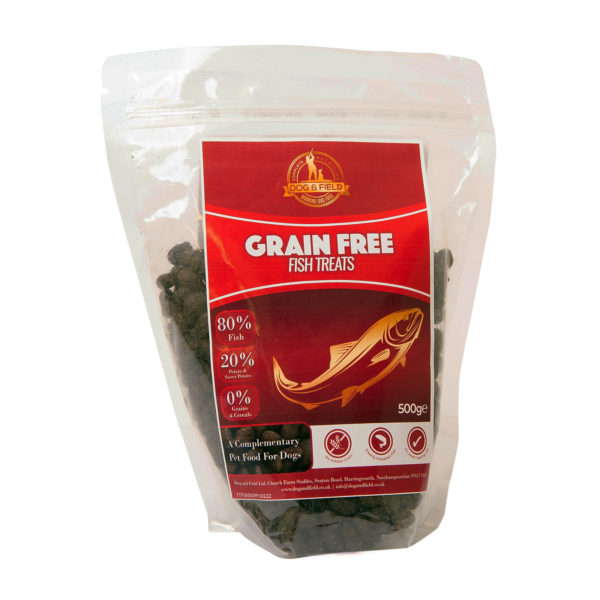 Dog and Field Grain Free Fish Treats 500g