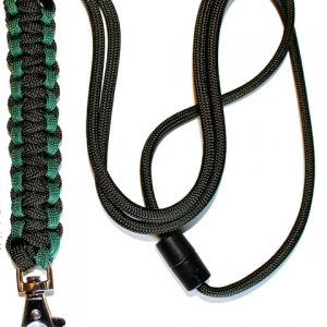 Olive & Forest Green - Cobra Lanyard-0