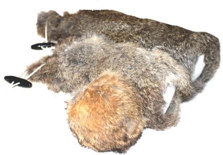 Rabbit Fur Dummy Ball-92