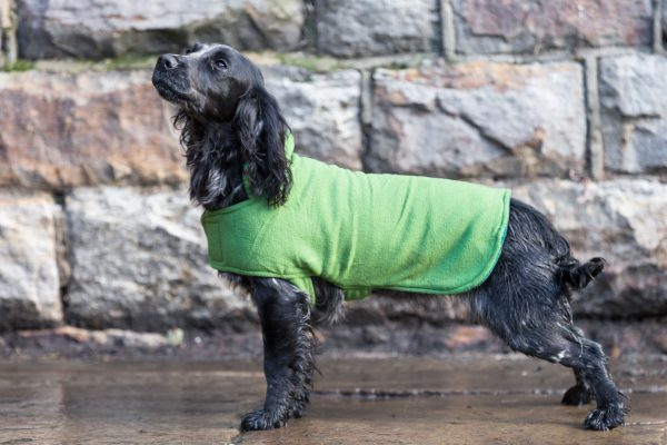 Dog & Field™ Duel Layer Light Green Toweling Coat - Sizes XS - XXL-646