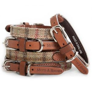 Balmoral Check Tweed Dog Collar