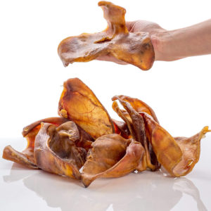 natural pigs ears dog treats