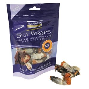 Fish4Dogs Sea Wraps - Sweet Potato